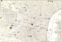 Vintage Map of Philadelphia (1885)