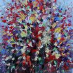 """Abstract floral bouquet"" by zampedroni"