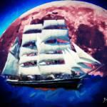 """Sailing Across the Sky"" by zzzorrro"