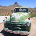 """Route 66 - Old Green Chevy"" by Ffooter"