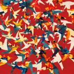 """Color Migration on Red"" by cozamia"