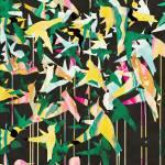 """Color Migration on Black"" by cozamia"