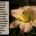 """Lords Prayer"" by debsmemories"