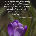 """""""Philippians 1 6"""" by debsmemories"""