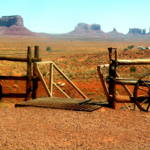 """Monument Valley from the Corral 0079"" by TomBellEagleWing"