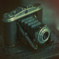 """Old Cameras BW NEW"" by James Rowland"