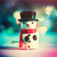 Wind Up Snowman-small