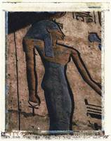 Hathor Holding the Ankh sign