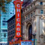 """Chicago Theater District"" by WaynePhotoGuy"
