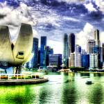 """City Skyline : Urban Landscape Singapore"" by sghomedeco"