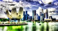 City Skyline : Urban Landscape Singapore