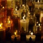 """Golden Prayer Candles DSC_0303"" by AndreHugosPlace"