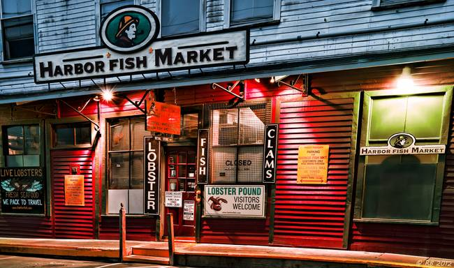 Stunning sign of the fish artwork for sale on fine art for Harbor fish market