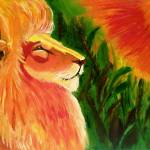 """Lion of Judah - Fire"" by gloryart"