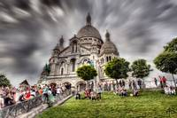 Sacred Heart of Paris HDR