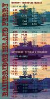 Bainbridge Island Ferry Schedule