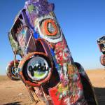 """Route 66 - Cadillac Ranch"" by Ffooter"