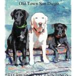 """Three Dogs Gallery poster"" by BeaconArtWorksCorporation"