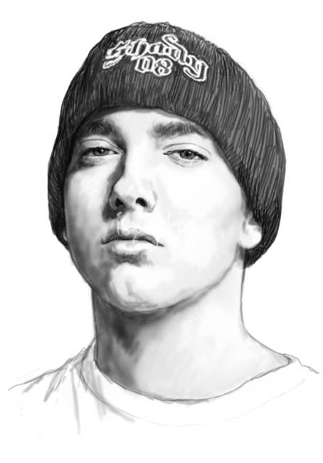 "Stunning ""Eminem"" Drawings And Illustrations For Sale On Fine Art Prints"