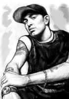Eminem art drawing sketch portrait