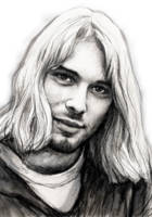 kurt cobain art drawing sketch portrait