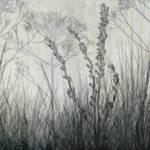 """""""Wildflower Silhouettes Grey"""" by CoraNiele"""