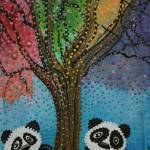 """The Panda Tree"" by ArtPrints"