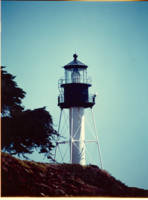 The New Point Loma Lighthouse (in color)