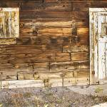 """Rustic Old Colorado Barn Door and Window"" by lightningman"