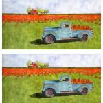"""Pumpkin truck double prints"" by studiobythesound"