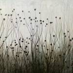 """""""Wildflower silhouettes Ivory & Brown"""" by CoraNiele"""