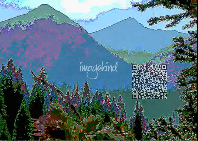 1320 Waveform - Violet Mountainscape