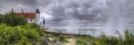 michigan.pointbetsie.stormyday.panorama