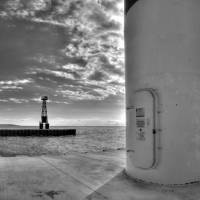 Pentwater Lighthouse Art Prints & Posters by North Twenty Two Gallery
