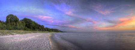 michigan.pierport.sunset.panorama.HDR