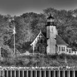 """White River Lighthouse"" by North22Gallery"