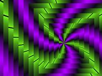 Fractal Purple meets Green