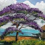 """Jacaranda Beach Shack"" by mazz"