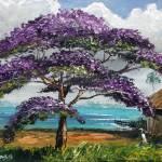 """Jacaranda Beach Shack"" by mazz"