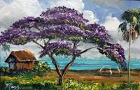 Tropical Jacaranda Tree