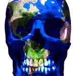 """""Luxemyth"" Earth skull"" by O"