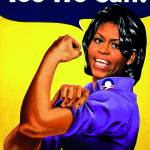 """""Recovery.gov"" Michele Obama as Rosie the riveter"" by O"
