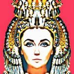 """""""Elizabeth Taylor, alias in Cleopatra"""" by ArtCinemaGallery"""