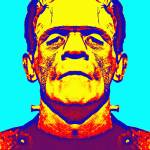 """Boris Karloff, alias in The Bride of Frankenstein"" by ArtCinemaGallery"