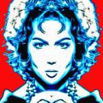 """""""Sara Montiel, alias in Carmen la de Ronda"""" by ArtCinemaGallery"""