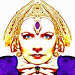 """""""Greta Garbo, alias in Mata Hari"""" by ArtCinemaGallery"""