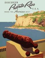 Discover Puerto Rico Travel Poster