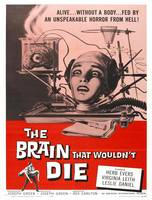 The Brain That Would'nt Die Movie Poster