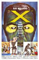 X: The Man with the X-ray Eyes Movie Poster