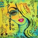 """Girl in green"" by BebeePino"